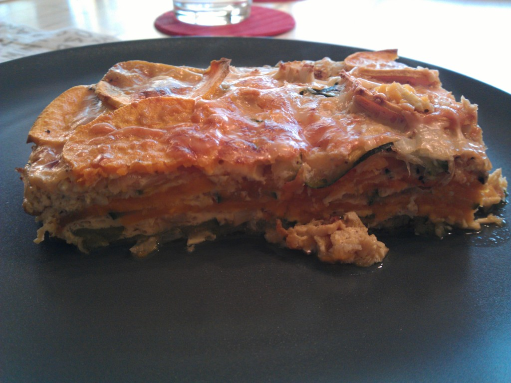 Bonus picture of the quiche once served